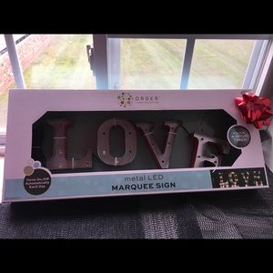Metal Led Marquee Sign